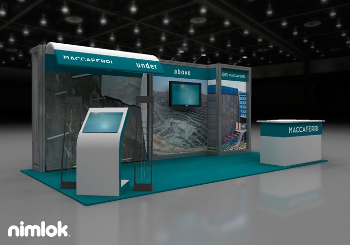 Maccaferri  - 10x20 - trade show exhibit