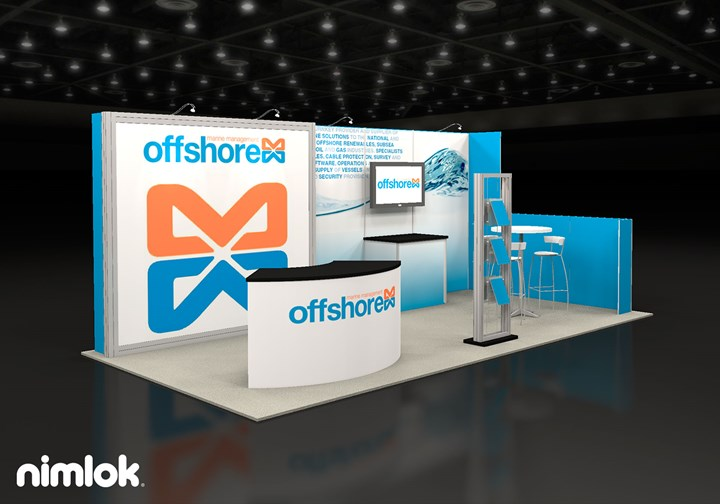 Offshore Marine Management  - 10x20 - trade show exhibit