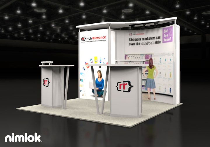 Rich Relevance  - 10x10 - trade show exhibit