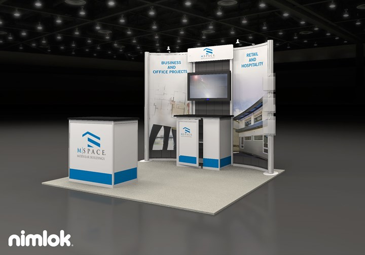 M-Space  - 10x10 - trade show exhibit