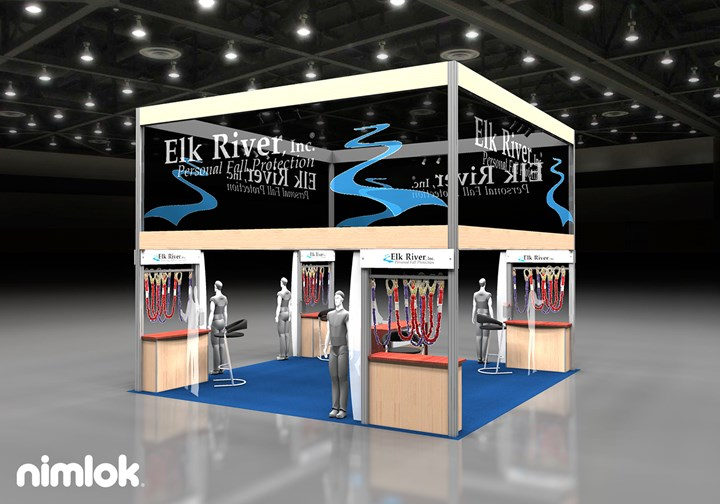 Elk River  - 20x20 - trade show exhibit