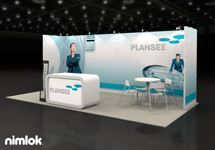 Plansee  - 10x20 - trade show exhibit