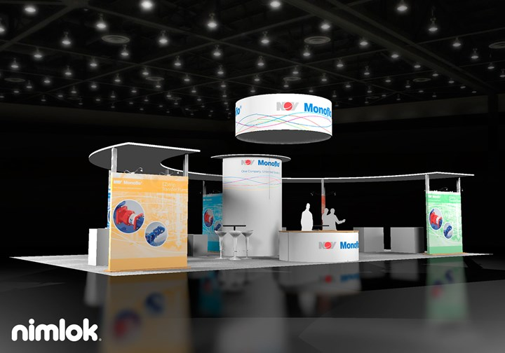 Monoflo  - 30x50 - trade show exhibit