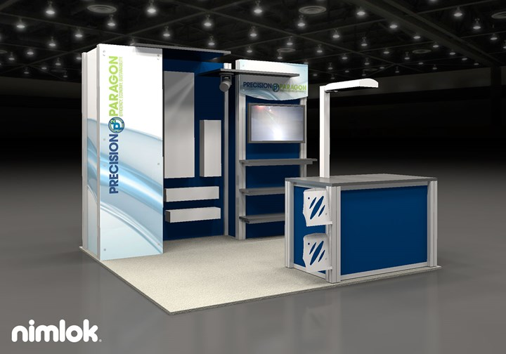Precision-Paragon  - 10x10 - trade show exhibit
