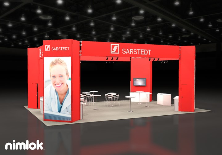 Sarstedt - 30x40 - trade show exhibit