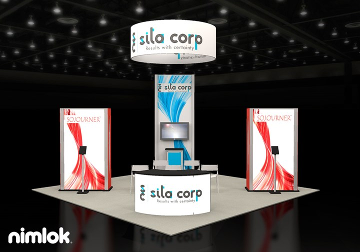 Sita Corp Sojourner  - 20x20 - trade show exhibit