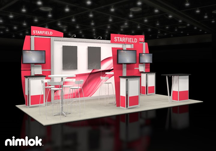 Starfield Talent Management Solutions - 10x20 - trade show exhibit