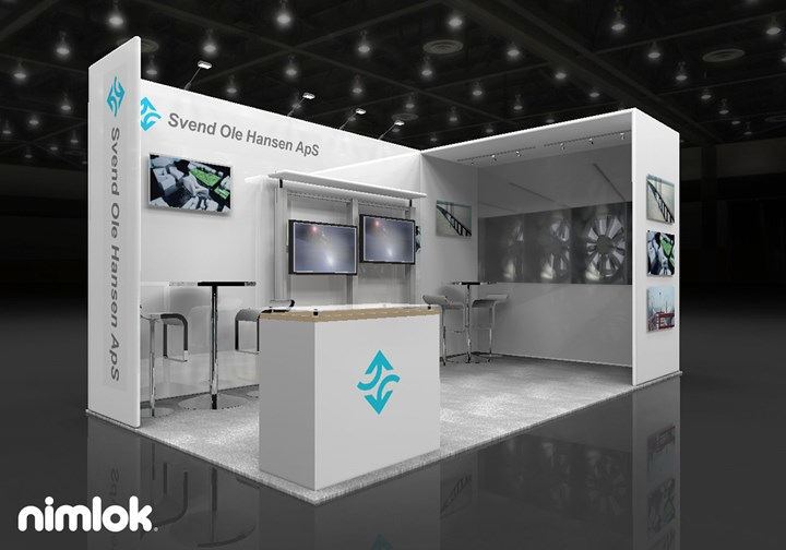 SOH Wind Engineering LLC - 10x20 - trade show exhibit
