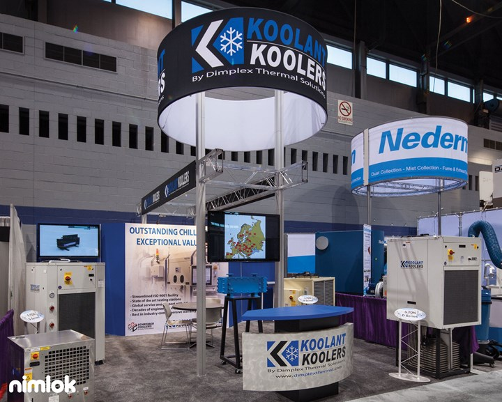 Koolant Koolers - 10x20 - trade show exhibit