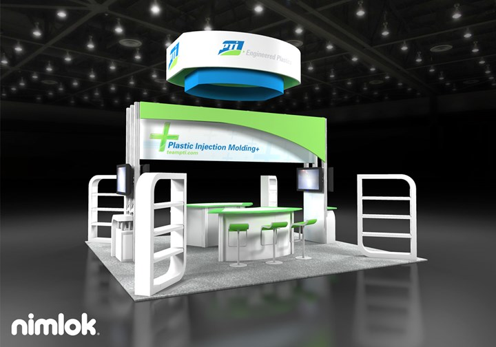 PTI - 20x20 - trade show exhibit