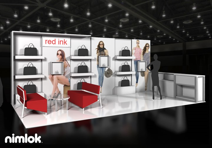 Red Ink Enterprise  - 10x20 - trade show exhibit