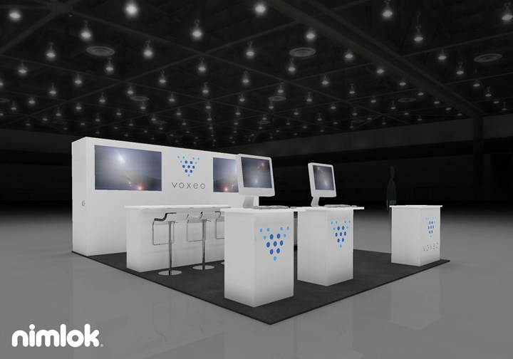 Voxeo Corporation  - 20x20 - trade show exhibit
