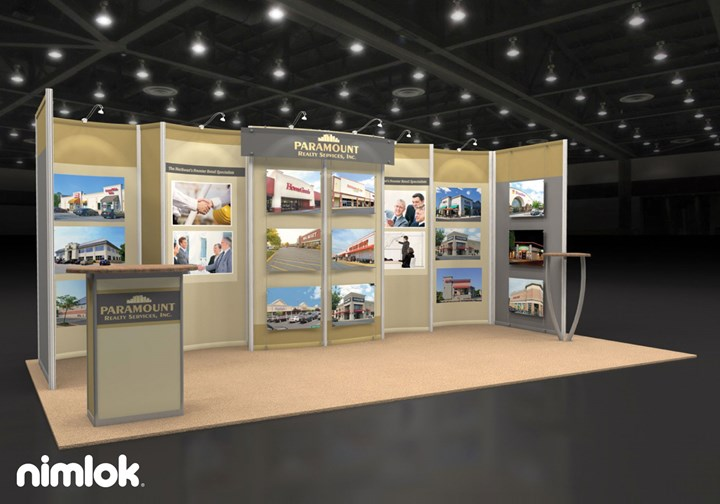 Paramount Realty - 10x20 - trade show exhibit