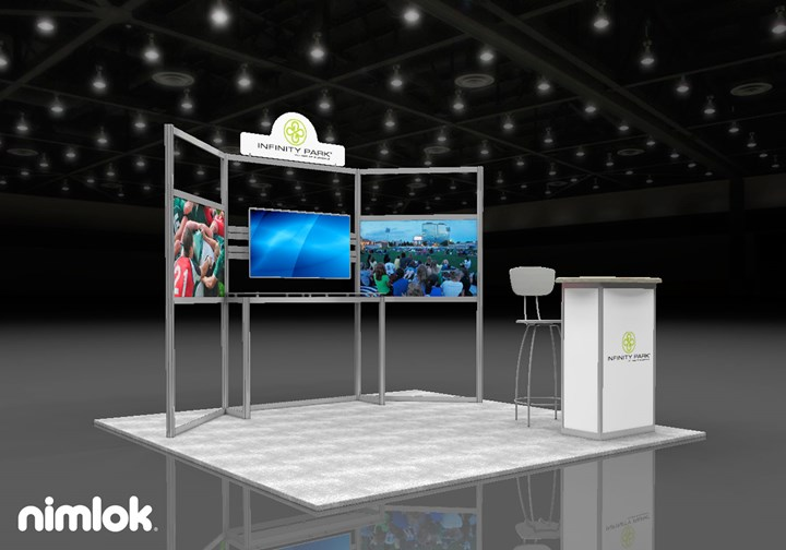 Infinity Park at Glendale   - 10x10 - trade show exhibit