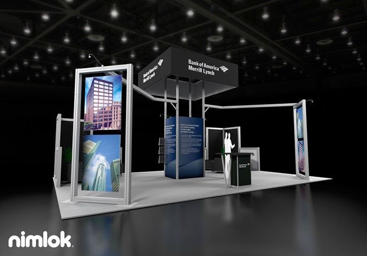 Bank of America Merrill Lynch - 20x30 - trade show exhibit