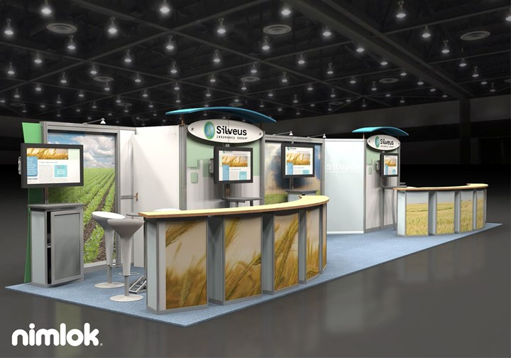 Silveus Insurance  - 10x40 - trade show exhibit