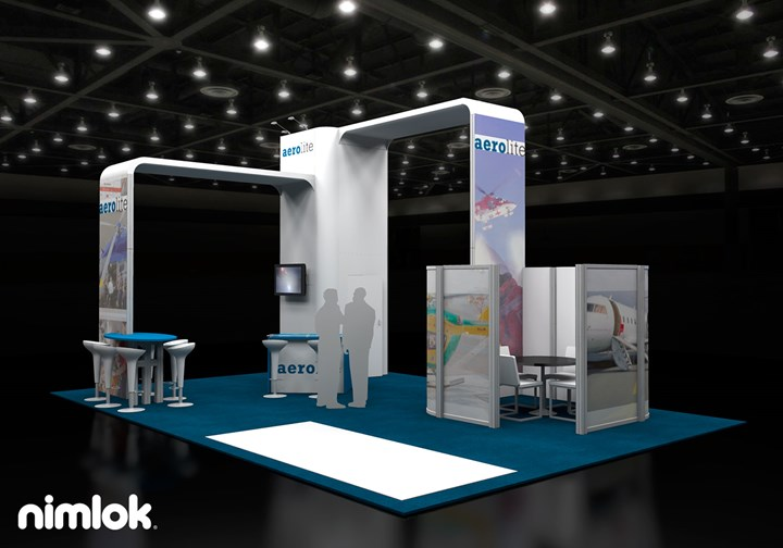 Aerolite America LLC  - 20x30 - trade show exhibit