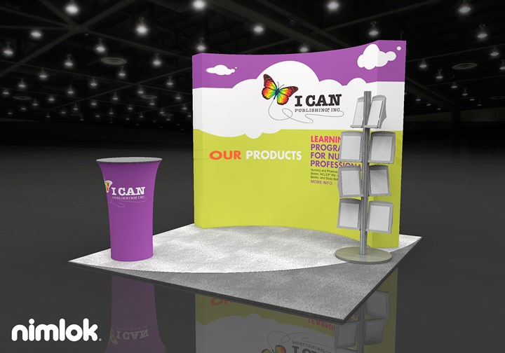 I Can Publishing  - 10x10 - trade show exhibit