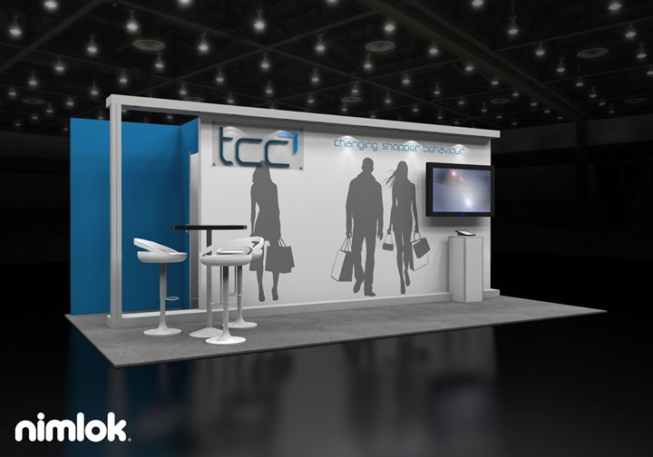 TCC Global  - 10x20 - trade show exhibit