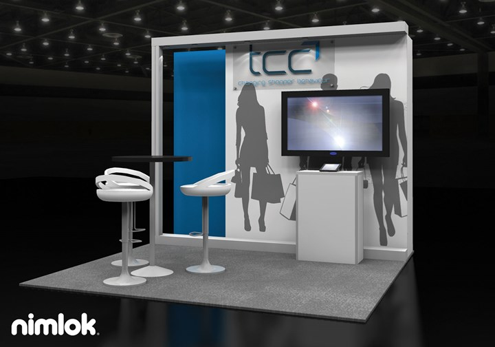 TCC Global  - 10x10 - trade show exhibit