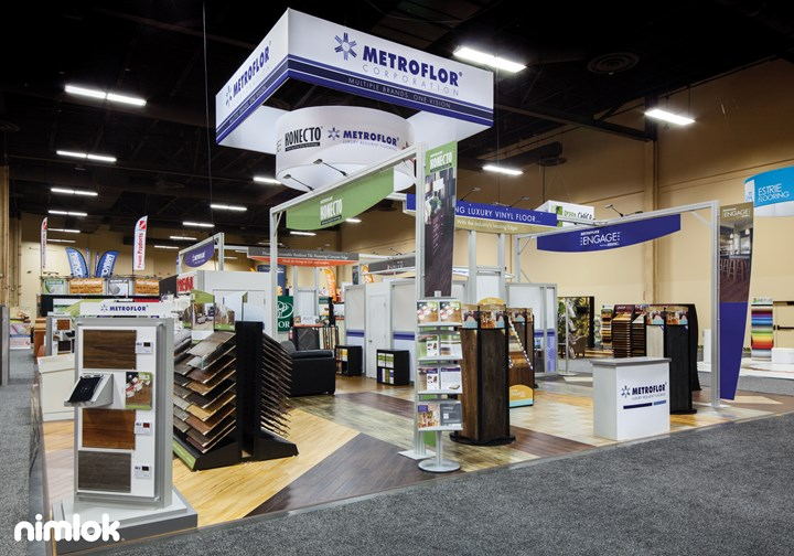 Metroflor - 40x50 - trade show exhibit