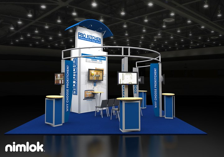 ProKitchen Software  - 20x20 - trade show exhibit