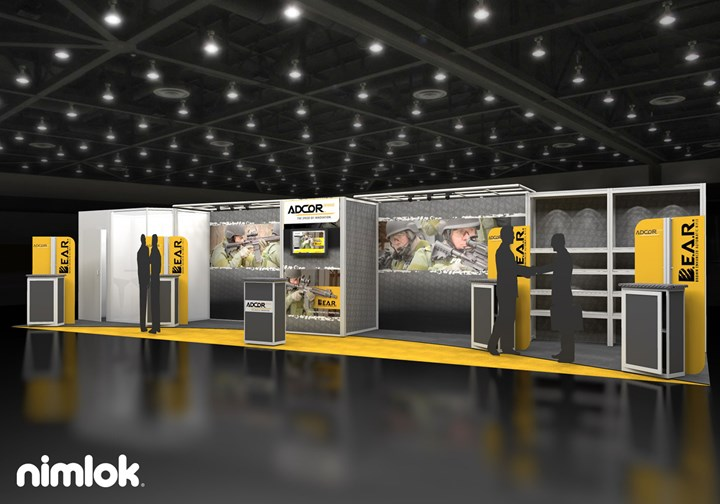 Adcor  - 10x40 - trade show exhibit