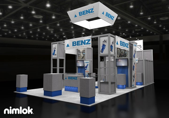 Benz Inc. - 20x40 - trade show exhibit