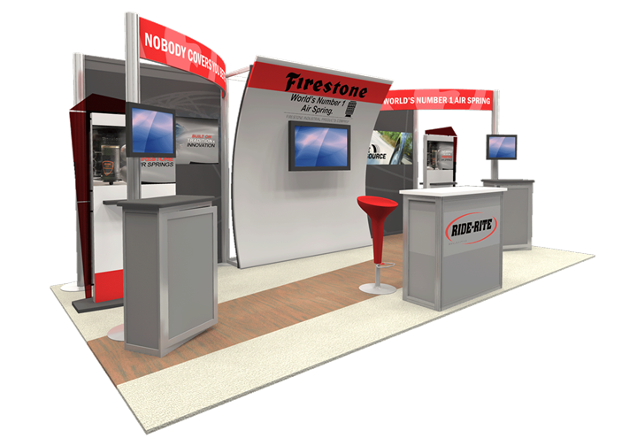 Firestone - 10x20 - trade show exhibit
