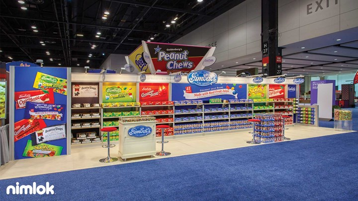 Gimbals Fine Candies - 10x40 - trade show exhibit