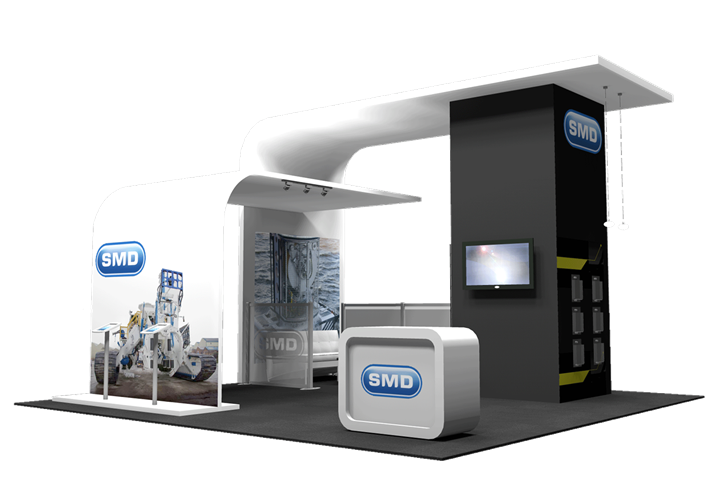 SMD - 20x20 - trade show exhibit