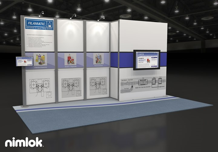 Filamatic - 10x20 - trade show exhibit