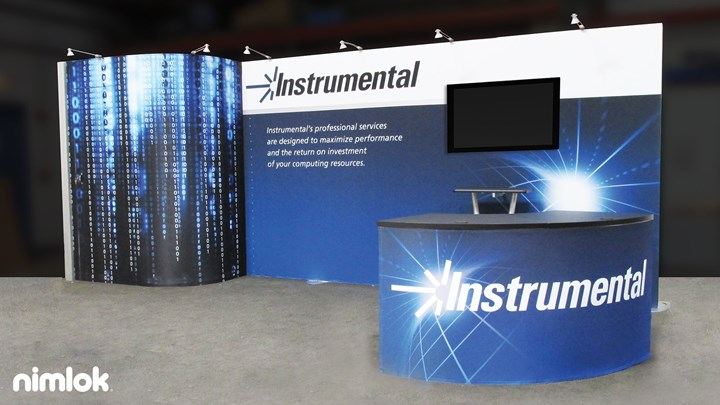 Instrumental - 10x20 - trade show exhibit