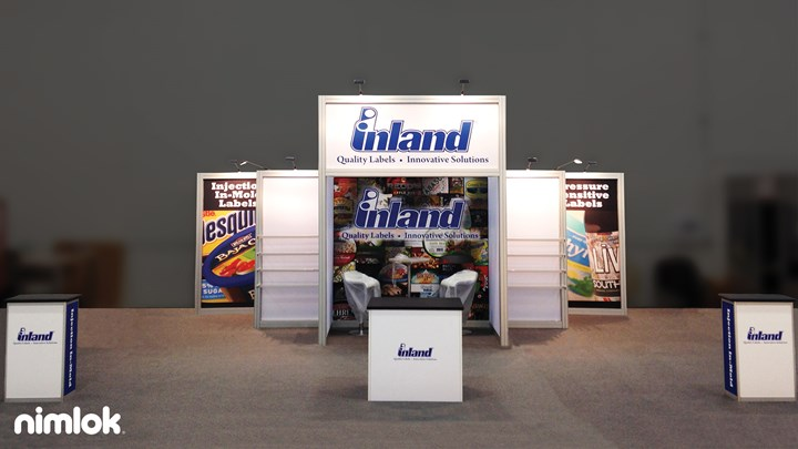 Inland - 15x25 - trade show exhibit