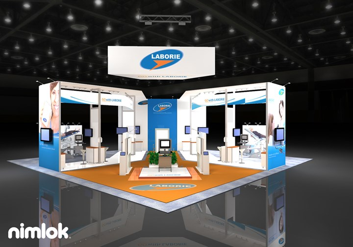 Laborie - 50x50 - trade show exhibit