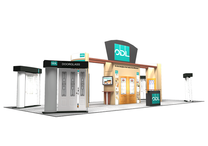 ODL Inc. - 20x50 - trade show exhibit