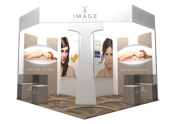 Image Skincare  - 20x20 - trade show exhibit