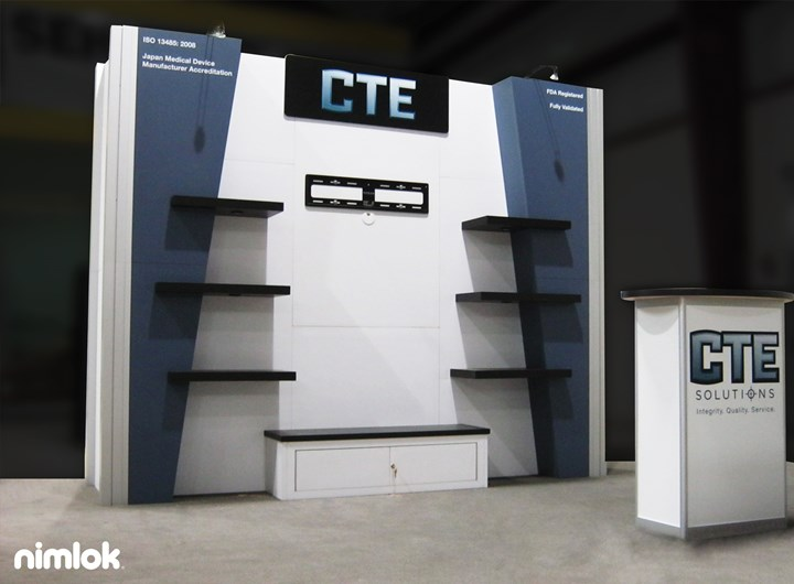 CTE  - 10x10 - trade show exhibit