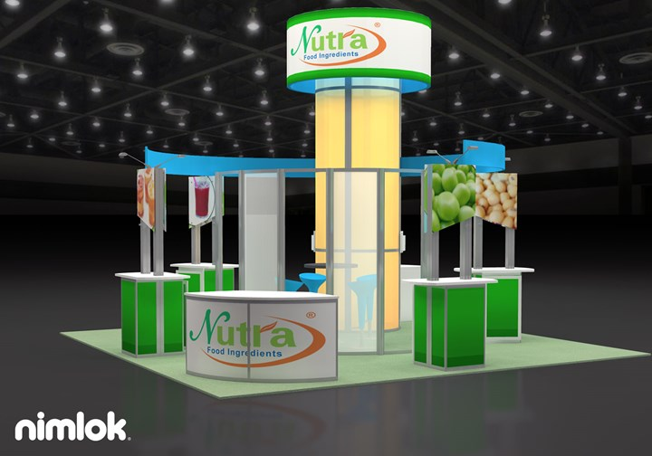 Nutra Food Ingredients  - 20x20 - trade show exhibit