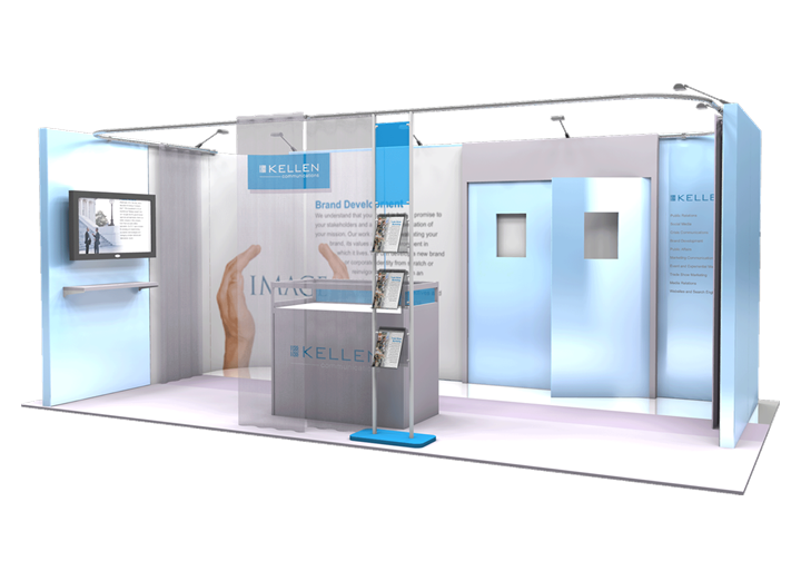 Kellen Communications - 10x20 - trade show exhibit