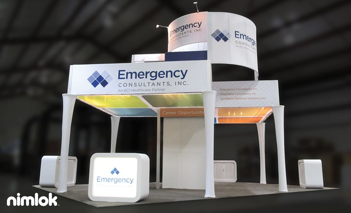 Emergency  - 20x30 - trade show exhibit