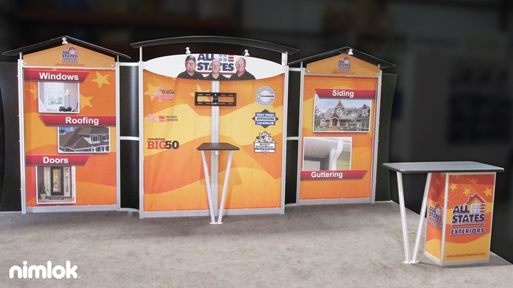 Allstates - 10X20 - trade show exhibit