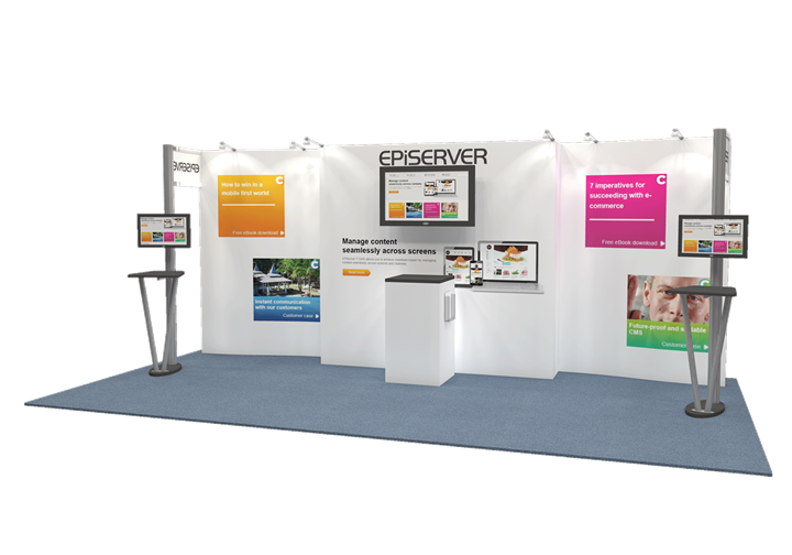 EPIServer  - 10x20 - trade show exhibit