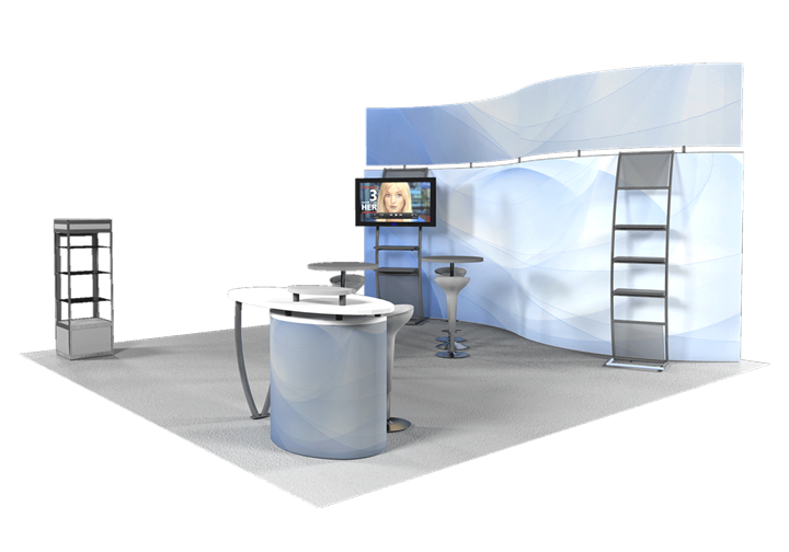 Klockner Pentaplast - 20x20 - trade show exhibit