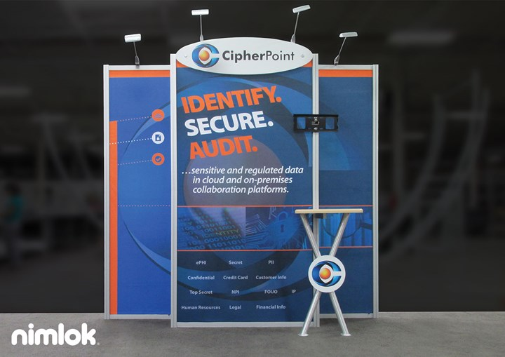 CipherPoint - 10x10 - trade show exhibit