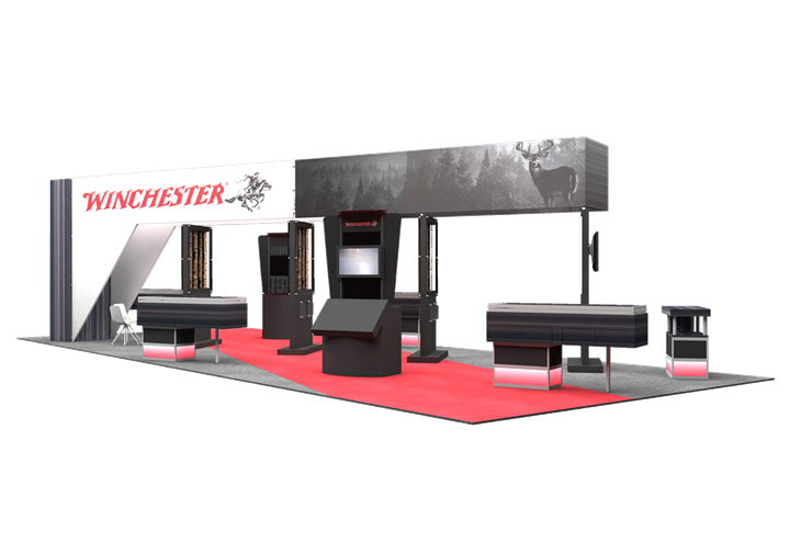 Winchester - 20x50 - trade show exhibit