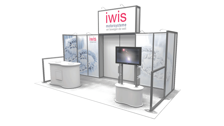 IWIS - 15x15 - trade show exhibit
