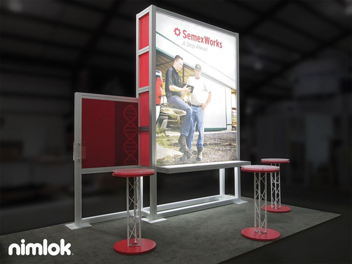 SEMEX - 10x60 - trade show exhibit