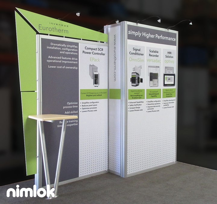 Invensys - 10x10 - trade show exhibit