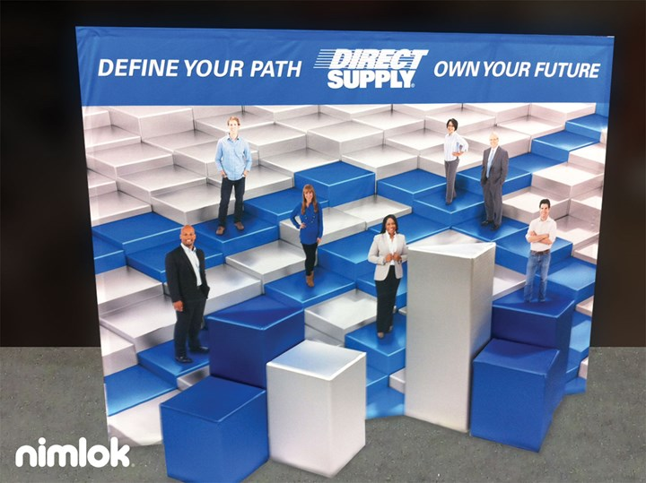 Direct Supply - 10x10 - trade show exhibit
